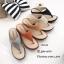รองเท้าแตะผู้หญิงสีน้ำตาล แบบคีบ สไตล์ลำลอง (สีน้ำตาล ) thumbnail 4