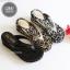 รองเท้าแตะเพื่อสุขภาพ แบบหนีบ เปิดส้น สไตล์ลำลอง (สีเงิน ) thumbnail 3
