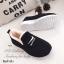 รองเท้าผ้าใบผู้หญิง บุขน ใส่หน้าหนาว (สีดำ ) thumbnail 4