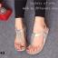 รองเท้าลำลองรัดส้น แบบคีบ (สีเงิน ) thumbnail 6