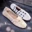 รองเท้าผ้าใบลายลูกไม้สีครีม งานโครเชถัก Style Brand Toms (สีครีม ) thumbnail 3