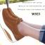 รองเท้าผ้าใบเสริมส้น เพื่อสุขภาพ แนววินเทจ (สีน้ำตาล ) thumbnail 3