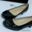 รองเท้าคัทชูส้นเตี้ย สไตล์เรียบหรู (สีดำ ) thumbnail 2