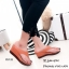 รองเท้าแตะผู้หญิงสีส้ม แบบคีบ สไตล์ลำลอง (สีส้ม ) thumbnail 2