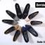 รองเท้าคัทชูส้นสูง หัวมน ผ้าสักหลาด (สีเทา ) thumbnail 4