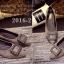 รองเท้าคัทชูหัวแหลม สไตล์Roger-Viewer แต่งหัวเข็มขัดสีเงิน (สีเทา ) thumbnail 4