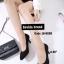 รองเท้าคัทชูส้นสูง หัวมน ผ้าสักหลาด (สีดำ ) thumbnail 3