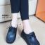 รองเท้าคัทชูหนัง สไตล์วินเทจ (สีดำ ) thumbnail 1
