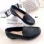 รองเท้าคัทชูเสริมส้น หนังนิ่ม ใส่สบายเท้า (สีดำ ) thumbnail 4