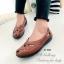 รองเท้าคัทชู แนววินเทจ หน้าไขว้ (สีแทน ) thumbnail 4