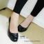 รองเท้าคัทชูส้นเตี้ย สไตล์เรียบหรู (สีดำ ) thumbnail 8