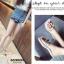 รองเท้าแตะแฟชั่นสีขาว สายคาดพลาสติกใส ไม่บาดเท้า (สีขาว ) thumbnail 3