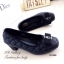 รองเท้าคัทชู ส้นสูง หัวตัด บุนวม (สีดำ ) thumbnail 4