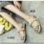 รองเท้าแตะผู้หญิงสีแอปริคอท เปิดส้น สายคาดแบบโซ่ (สีแอปริคอท ) thumbnail 3