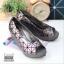 รองเท้าส้นเตารีดสีเทา สไตล์ BAOBAO ทรงสวย TopHit (สีเทา ) thumbnail 3