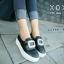 รองเท้าผ้าใบแฟชั่นสีดำ Roger vivier ส้นมัฟฟิน (สีดำ ) thumbnail 1