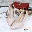 รองเท้าคัทชู ส้นสูง หัวแหลม ซับในกำมะหยี่นิ่ม (สีชมพู ) thumbnail 3