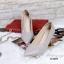 รองเท้าคัทชู ส้นสูง หัวแหลม ซับในกำมะหยี่นิ่ม (สีเทา ) thumbnail 3