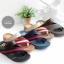 รองเท้าแตะเพื่อสุขภาพ สไตล์ลำลอง หูหนีบ เสริมพื้น (สีครีม ) thumbnail 4