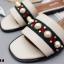 รองเท้าแตะลำลองสีครีม สไตล์แบรนด์ GUCCI (สีครีม ) thumbnail 3