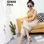 รองเท้าคัทชูเปิดส้นสีชมพู สไตล์สวม หนังแก้ว (สีชมพู ) thumbnail 2