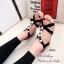 รองเท้าแตะ รัดส้น สายรัดยางยืด ใส่กระชับเท้า (สีดำ ) thumbnail 4