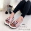 รองเท้าแตะผู้หญิง แบบสวม ลายkitty (สีชมพู ) thumbnail 2