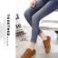 รองเท้าผ้าใบผู้หญิง สไตล์วินเทจ (สีน้ำตาล ) thumbnail 4
