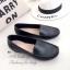 รองเท้าคัทชูเสริมส้น หนังนิ่ม ใส่สบายเท้า (สีดำ ) thumbnail 6