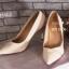 รองเท้าคัทชูส้นสูง ทรงหัวแหลม (สีแอปปริคอท ) thumbnail 2