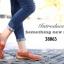 รองเท้าคัทชู สไตล์สุภาพ หนังนิ่ม (สีส้ม ) thumbnail 2