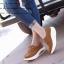 รองเท้าผ้าใบเสริมส้น เพื่อสุขภาพ แนววินเทจ (สีน้ำตาล ) thumbnail 2
