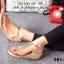 รองเท้าลำลองรัดส้น แบบคีบ (สีทอง ) thumbnail 5
