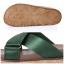 รองเท้าแตะเพื่อสุขภาพสีเขียว สายคาผ้าซาติน พื้นยางนิ่ม (สีเขียว ) thumbnail 6