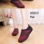 รองเท้าคัทชูเสริมส้น วัสดุผ้านิ่ม ใส่สบายเท้า ดีไซน์ทันสมัย (สีแดง ) thumbnail 3