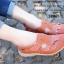 รองเท้าคัทชู สไตล์สุภาพ หนังนิ่ม (สีส้ม ) thumbnail 4