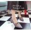 รองเท้าคัทชู หัวแหลม หนังกลับ คาดดอกไม้ (สีเทา ) thumbnail 3