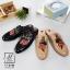 รองเท้าส้นแบนเปิดส้นสีดำ style แบรนด์ Gucci (สีดำ ) thumbnail 7