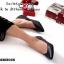 รองเท้าคัทชู สไตล์ZARA หน้าV ใส่ได้หลายโอกาส (สีดำ ) thumbnail 3