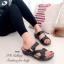 รองเท้าแตะ เพื่อสุขภาพ ปุ่มยางช่วยนวดเท้า ใส่ได้ตลอดวัน (สีดำ ) thumbnail 3