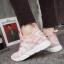 รองเท้าผ้าใบแฟชั่นสีชมพู ผ้าตาข่าย ดีไซน์สวย (สีชมพู ) thumbnail 5