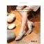 รองเท้าคัทชูผู้หญิง หัวมน ส้นเหลี่ยม (สีเทา ) thumbnail 4