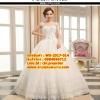ชุดแต่งงานราคาถูก แขนกุดลายปัก ws-2017-014 pre-order
