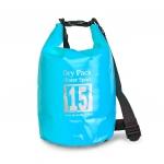 กระเป๋ากันน้ำ Dry pack 15L-สีฟ้า