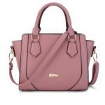 พร้อมส่ง ขายส่งกระเป๋าถือผู้หญิง คุณนายวัยทำงาน ผู้ใหญ่ เรียบหรู แฟชั่นยุโรป Sunny-878 สีชมพู