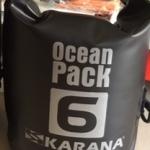 กระเป๋ากันน้ำ Ocean Pack 6L-สีดำ
