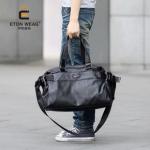 พร้อมส่ง กระเป๋าผู้ชายแฟขั่นเกาหลี รหัส Man-A502-S ใส่คอมพิวเตอร์ (ขนาดเล็ก 39cm) สีดำ