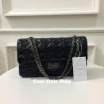 กระเป๋าแฟชั่น แบรนด์ Zara รุ่น Quilted Faux leather shoulder bag Size L