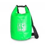 กระเป๋ากันน้ำ Dry pack 15L-สีเขียวตอง