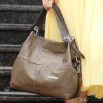 ขายส่ง กระเป๋าสะพายไหล่ มีสายสะพายข้าง แฟชั่นยุโปรอเมริกา Fashion bag รหัส NA-625 สีน้ำตาลเข้ม
